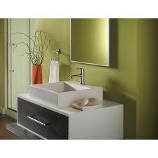 Delta Trinsic Bathroom Faucet by Delta Faucet 559lf Mpu Trinsic Polished Chrome One Handle Bathroom