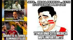 Memes De Peru Vs Colombia - per禳 vs colombia memes en facebook por el partido de copa am礬rica