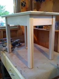 shaker style end table kreg jig owners community wood projects