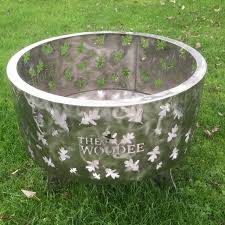 Stainless Steel Firepit 600mm Pit Stainless Steel The Woodee