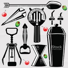 mixed drink clipart bar tools for making cocktails stock vector art 92735608 istock