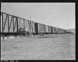 Homes F by File Box Car Homes For Miners This Is Part Of Company Housing