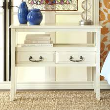 Antique White Console Table Console Tables Logan Storage Console Table Console Tabless
