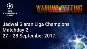 Jadwal Liga Chion Jadwal Siaran Liga Chions 27 28 September 2017 Jadwal Siaran