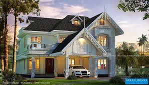 european style homes green homes awesome european style house in kerala