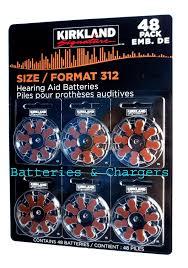 amazon com hearing aid batteries size 312 1 45 volt mercury free