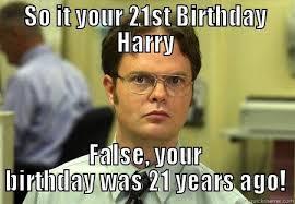 Happy 21 Birthday Meme - happy 21st birthday funny 3083022 iphone de vanzare info