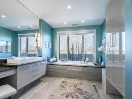 blue gray bathroom ideas 45 blue master bathroom ideas for 2018 gray floor blue walls