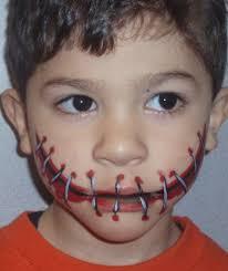 mouth stitches photo by carolturman photobucket boy face paint