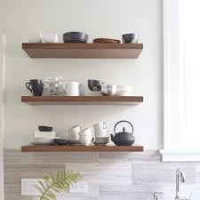kitchen kitchen floating shelves custom for you the new way home