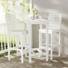 White Patio Dining Table And Chairs White Patio Dining Sets You U0027ll Love Wayfair