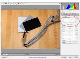 can you fix photo white balance with adobe camera raw