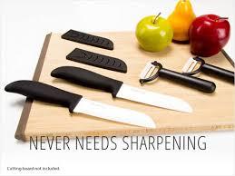 kitchen knives that never need sharpening yoshi yoshimo blade 4 ceramic knife set neweggflash