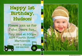 creating a john deere birthday invitations party u2014 all invitations