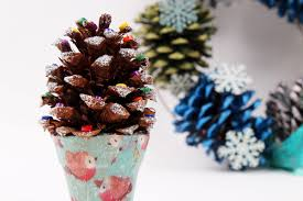 how to make a mini pinecone tree hobbycraft blog