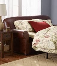 Black Leather Sleeper Sofa by Fresh Ll Bean Sleeper Sofa 45 About Remodel Black Leather Sleeper