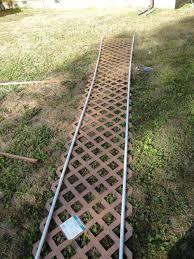 all things gardening forum trellis arch using vinyl lattice and