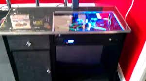 pc built in to desk for sale built in pc desk i7 processor
