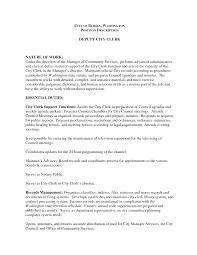 file clerk sample resume deputy city clerk cover letter sample entry level nurse resume city clerk sample resume service contract template free menu deputy city clerk final job description sle