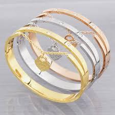 metal bracelet women images Design luxury brand love bracelet women stainless steel roman jpg