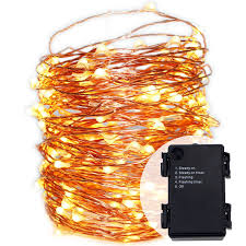 waterproof 6aa battery operated 5modes timed flash string lights