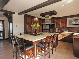 laminate countertops kitchen island with seating for 6 lighting