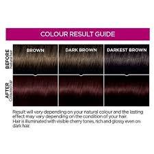 rich cherry hair colour casting creme 356 cherry cola brown semi permanent hair dye superdrug