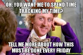 Meme Tracking - oh you want me to spend time tracking my time tell me more about