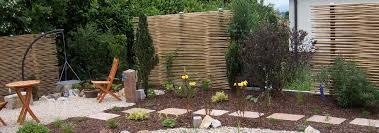 gartengestaltung sichtschutz bambussichtschutz neuheit zäune sichtschutz garten bambus