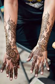 1a intricate indian bridal mehndi design on hands more here www