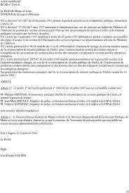 bureau d ordre et d emploi certificat d affichage et de diffusion pdf