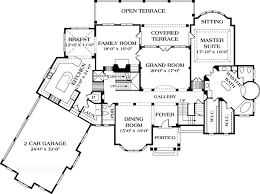 mediterranean home plans and spanish house floor plans at