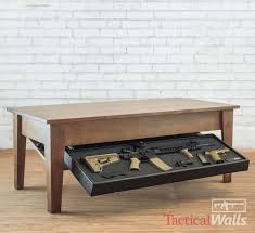 concealment coffee table tactical walls home defense