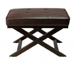 Leather Bench Ottoman by Small Leather Ottomans Foter