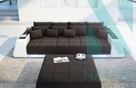 sofa mit led beleuchtung ledersofa big sofa vice bei nativo möbel schweiz günstig kaufen