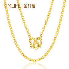 gold chain necklace wholesale images Usd 417 96 gold rifie gold necklace clavicle chain million word jpg