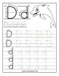 kindergarten letter n writing practice worksheet printable kids