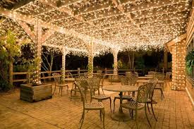Light For Patio Perk Up Your With Pergola Lighting Yard Envy