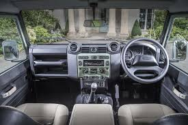 land rover range rover 2016 interior 2016 land rover defender 90 heritage review