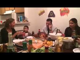 saying grace thanksgiving dinner
