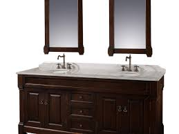 Bathroom Vanities Online by A Narrow Trestle Table Makes A Charming Vanity In This Bath