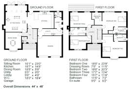 Two Storey Floor Plans Simple Two Storey House Floor Plan Best House Plans And Floor