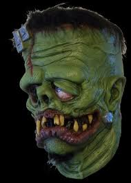 Frankenstein Halloween Costumes Franken Fink Halloween Mask Grim Nation Masks Costumes