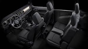 jeep wrangler unlimited interior 2017 all new 2018 jeep wrangler state of the art interior features
