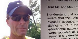 principal scolds parents for taking kids on vacation father