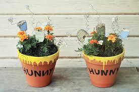 winnie the pooh baby shower ideas hunny pots and pooh sticks winnie the pooh baby shower