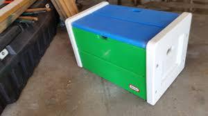 Little Tikes Toy Chest Little Tikes Vintage Toy Box Blue Green White Pickup Ia