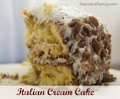 127 best italian cream cake images on pinterest italian cream