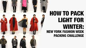 packing light for europe how to pack light for winter new york winter packing challenge
