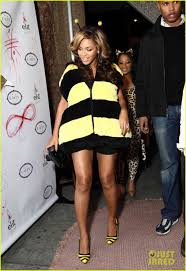 beyonce bumblebee for halloween photo 2595822 beyonce knowles